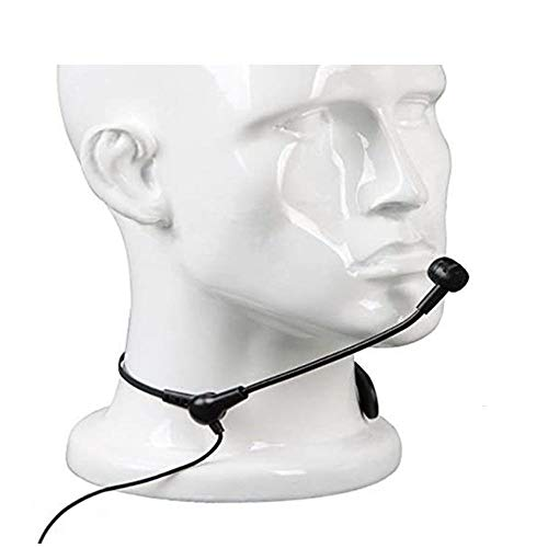 ミニ ヘッドセットマイク マイク (拡声器用)マイクロフォン 片耳 単一指向性 教育 ボイス アンプ スピーカ対応 ネックマイクAタイプ ミニマイクスピーカー用 (拡声器用TS)