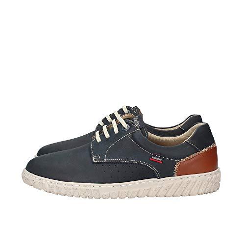 Callaghan Mope, Zapatos de Cordones Derby Hombre, Azul (Azul 2), 42 EU