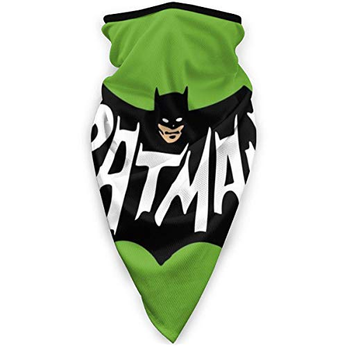 Dydan Tne Bufanda para la Cara Resistente al Viento Bat-Man, Polaina para el Cuello, pasamontañas, Bufandas de esquí, Calentador Facial para Correr, Motociclismo, Senderismo, Negro NCK-130
