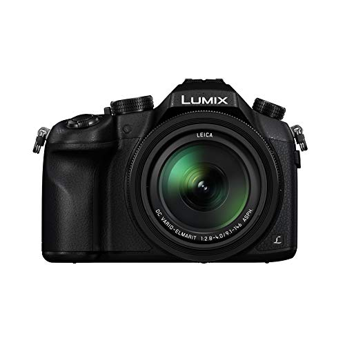 Panasonic Lumix Appareil Photo Bridge Expert DMC-FZ1000F9 (Grand capteur Type 1 Pouce 20 MP, Zoom Leica 16x F2.8-4.0, Viseur OLED, Ecran orientable, Vidéo 4K, Stabilisé) Noir – Version Française