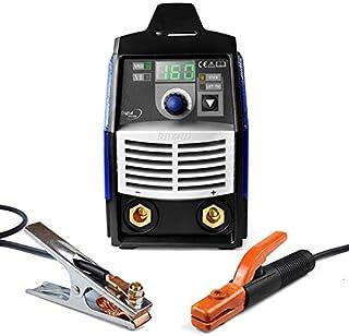Soldador inverter electrodo MMA ARC 160GDM, electrodos revestidos básicos, rusos, hierro fundido,