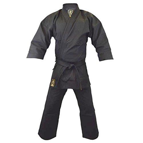 S.B.J - Sportland Karate Anzug TORA schwarz 14OZ, 180 cm