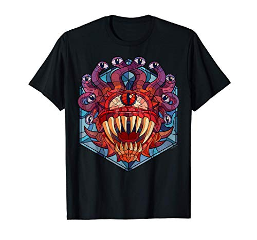 Dungeons & Dragons Beholder Stained Glass Maglietta