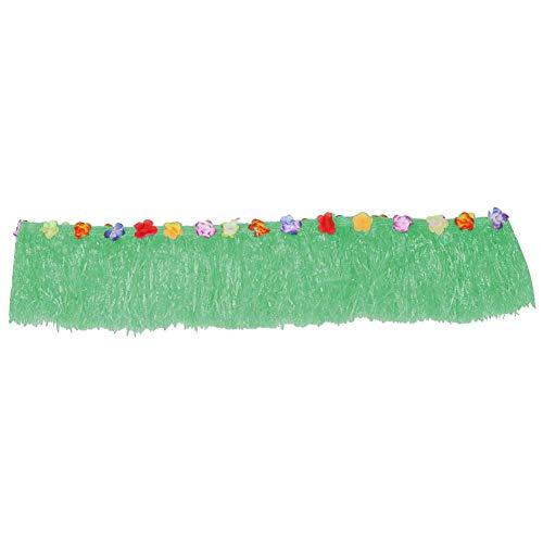 Party tafel rok, kleurrijke bloem Luau Tropical Party tafel Gras Rok Zomer Beach Party Decoratie #7