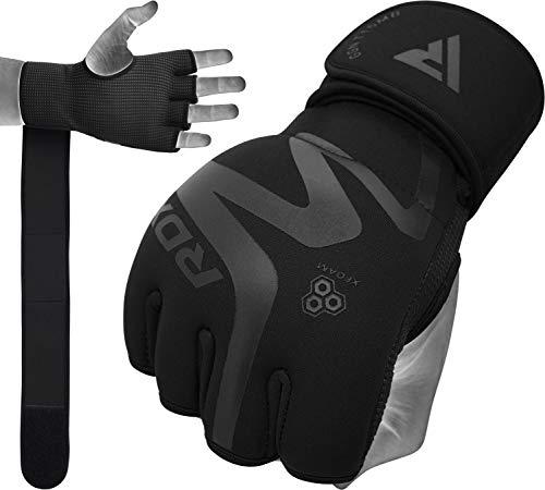 RDX Innenhandschuhe MMA Boxbandagen Handschuhe Kampfsport Sandsackhandschuhe Sparring Innere Grappling Trainingshandschuhe (MEHRWEG)