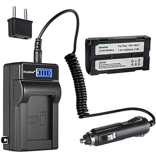 Kastar 1-Pack BDC-58 Battery and LCD AC Charger Compatible with Sokkia BDC46, BDC46A, BDC46B, BDC-58, BDC58, BDC-70, BDC70, BLI-SRX1, SDL30, SDL50, CDC68, Energizer ERC610, Fuji VMBPL30A, VMBPL60A -  CHL-1B-BDC58-B