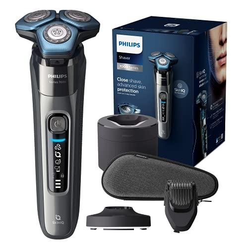 Philips Shaver Series 7000 Wet & Dry S7788/59 Afeitadora eléctrica para uso en seco y húmedo para hombres