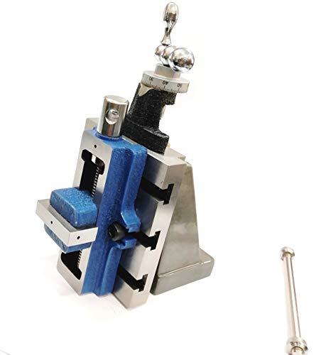 Lathe Milling Vertical Slide & 50 mm Self Centering Vise Vice-Engineering Tools