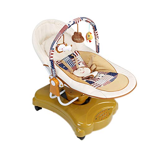 Baby veranderende tafel Ali@ baby bouncers evenwicht elektrische peuter Rocker Smart Shaker muziek Comfort stoel