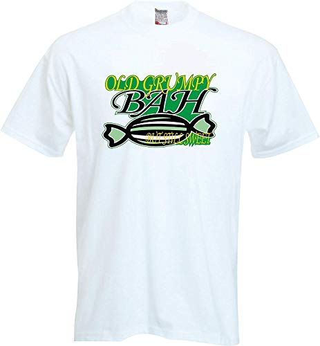 Oud Grumpy BAH Humbug Maar nog steeds Zoete Kerst T Shirt FOTL Jongens & Meisjes Waarde T-Shirt Kleuren Zwart/Wit -