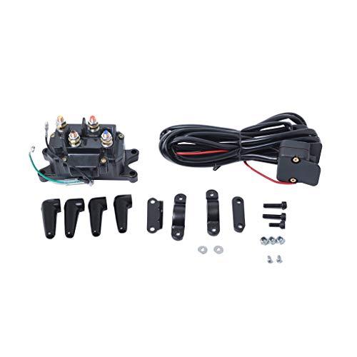 Fornateu 12V Motocicleta ATV/UTV Winch relé de solenoide del contactor con Interruptor...