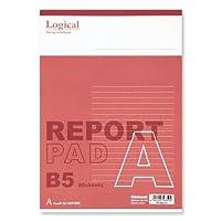 ナカバヤシ スイング ロジカル レポートパッド B5 A罫 RP-B501A 【まとめ買い10個セット】