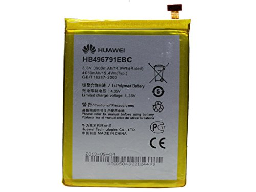 batería acumulador original Huawei HB496791EBC Li-Ion Huawei Ascend Mate