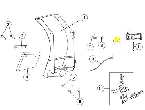 Find Bargain Western SnowEx Part # 42530 - Cam Lock Assembly