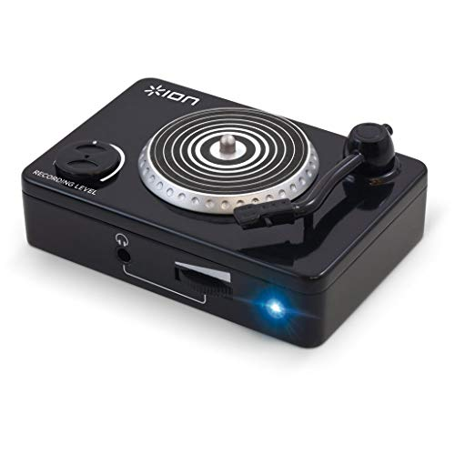 ION Audio Vinyl Forever | Compact USB Audio Conversion Turntable Adapter...