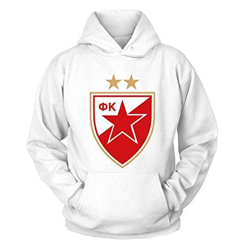 Shirtblaster FK Roter Stern Belgrad Kapuzenpullover Größe XL