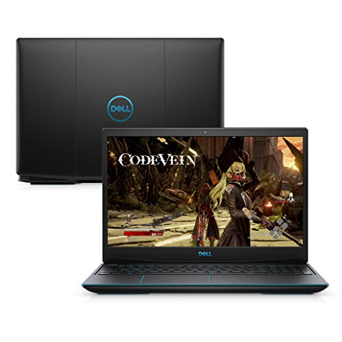 "Notebook Gamer Dell G3-3590-A60P, 9ª Geração Intel Core i7-9750h, 8Gb, 512GB SSD, NVI GTX 1660Ti, Tela FHD 15.6"", Windows 10, Preto"