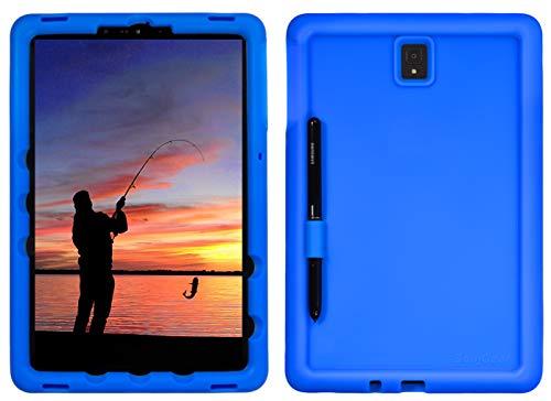 BobjGear Bobj Rugged Tablet Case for Samsung Galaxy Tab S4 10.5 (SM-T830) Kid Friendly (Batfish Blue)