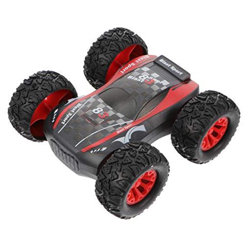 TOYANDONA Mini RC Car Stunt Car Toy Todoterreno Modelo de Coche Juguete Educativo para Niños Pequeños