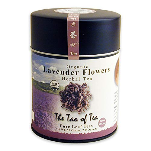 The Tao of Tea, Lavender Herbal Tea, Loose Leaf, 2.0 Ounce Tin (Packaging May Vary)