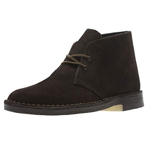 Clarks Desert Boots - Polacchine Uomo, Pelle, Marrone (Brown Suede-), 43 EU