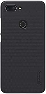 Nillkin Xiaomi Mi 8 lite Mobile Cover Super Frosted Hard Shield Phone Case - Black