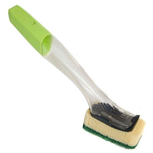 3 x Dishmatic Washing Up Brushes with Heavy Duty Sponge