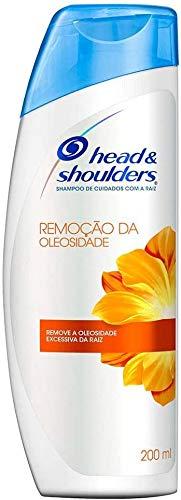 Shampoo De Cuidados Com A Raiz Head & Shoulders Remoção Da Oleosidade 200Ml, Head & Shoulders