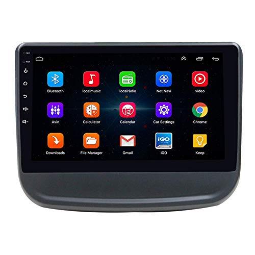 Android 9.1 Video en el Tablero del automóvil con 9 Pulgadas Pantalla táctil para Chevrolet Equinox Car Entertainment Sat Nav Multimedia Radio, WiFi/BT Tethering Internet, Soporte Bluetooth64G SD