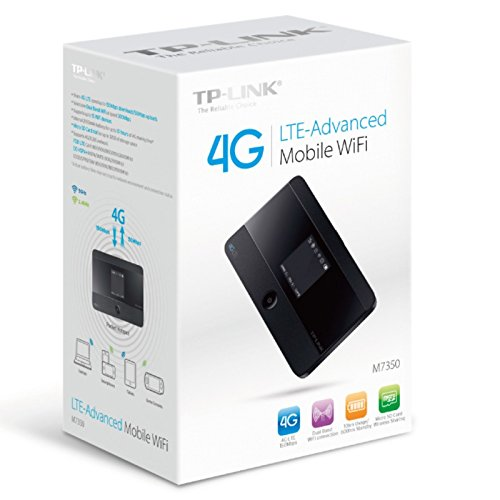 TP-LINK M7350 LTE Advanced Mobile Wi-Fi 150 Mbps