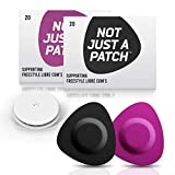 NOT JUST A PATCH Bundle Black and Purple Patches for Freestyle Libre and Medtronic