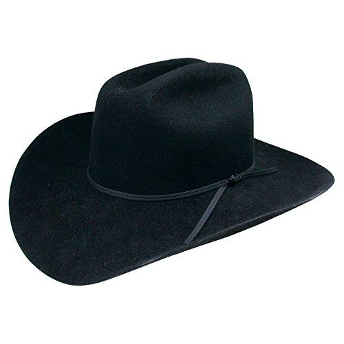 Stetson Boys' Rodeo Jr. Wool Felt Cowboy Hat Black One Size
