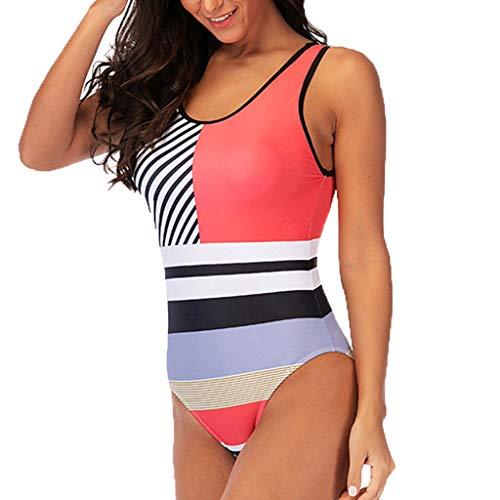 Vectry Traje de Baño Mujer Bikinis Calzedonia Bañador Premama Mujer En Traje de Baño Degradado Tankini Embarazada Traje de Baño Rosa