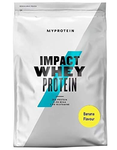 Myprotein Impact Whey Protein, 1 kg, Banana