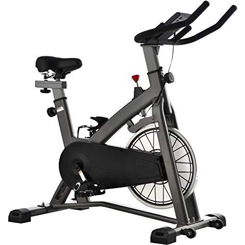 WJFXJQ Bicicleta de Ciclismo Interior estacionaria, Bicicleta de Ejercicios con Asiento y Manillar Ajustable para el hogar Cardio Gimnasio Entrenamiento