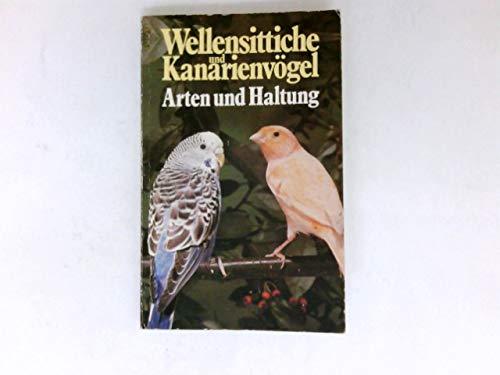 Wellensittiche und Kanarienvögel.