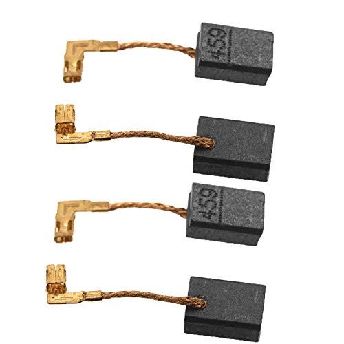 2er Kohlebürsten CB-459 Kohlen Makita Winkelschleifer 6x9x13mm 2Paar Set