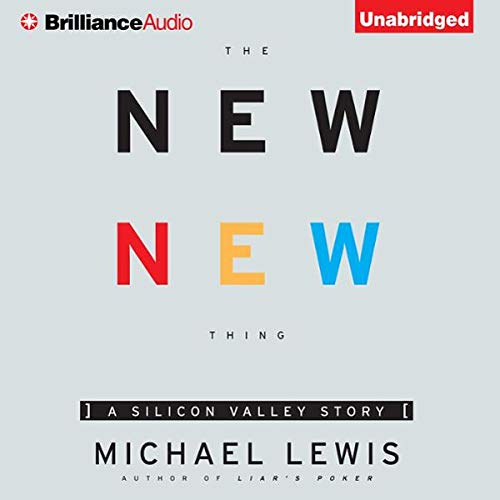 The New New Thing audiobook cover art