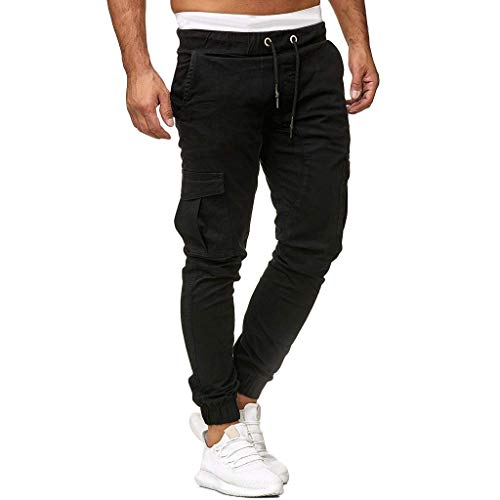Tomatoa Manner Hosen Lang Jogginghose Cargo Hosen Herren Freizeithose Streetwear Mode Sporthose Trainingshose Regular Fit Sweatpants S - 3XL