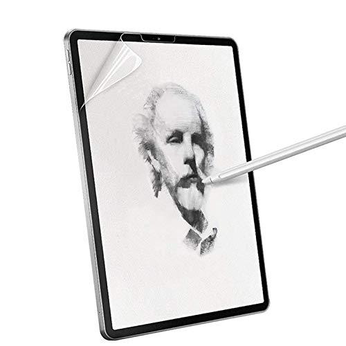 Schutzfolie Paper feel Displayschutz für iPad Pro 11 Zoll 2018/2020, wie papier auf Papier-Textur Bildschirmschutzfolie wie auf Papier Schreiben,Malen,Zeichnen Anti Reflex für iPad pro 11(Ein Stück)