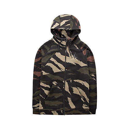 NIKE BQ5645-222 Sweatshirt, Multicolor, S Mens