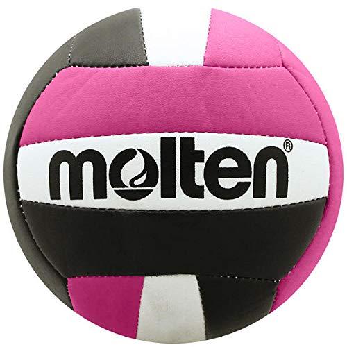 Molten Mini Volleyball, Unisex, Jugendliche, V200-BLK/HPNK, schwarz/pink