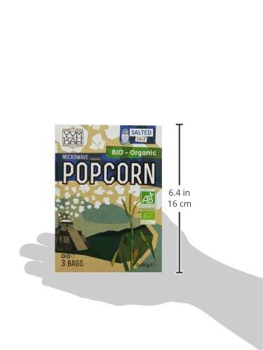 Yum Kah BIO Mikrowellen Popcorn salzig, glutenfrei - 5