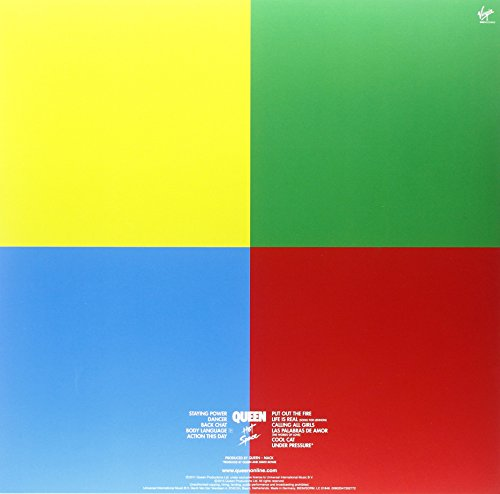Queen – Hot Space (Limited Edition) [Vinyl LP] - 2