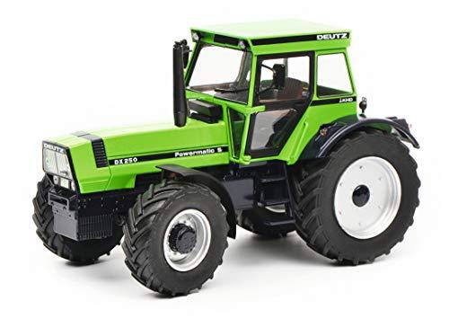 Schuco 450768800 grün 450768800-Deutz DX 250 1:32, Modellauto, Modellfahrzeug