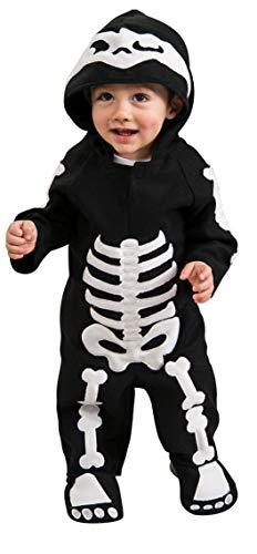 Rubie's - Disfraz de Esqueleto infantil, talla bebé 1-2 años (Rubie's 885990-T)