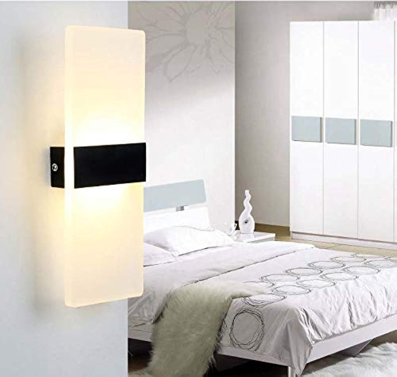 Moderne Wandleuchte Led Innenwandleuchten Led Wandleuchte Lampe Lichter für Schlafzimmer Wohnzimmer Treppe Spiegel Licht Lampara De Parot,schwarz