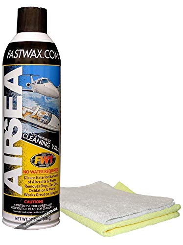FW1 AIR and SEA Waterless Cleaning Wash and Wax with Carnauba Fast Wax