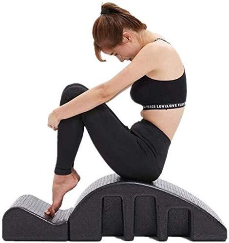 Pilates Spine columna Yoga Masaje Arco Cama Pilates Multi Cama función de masaje Pilates Mesa de masajes for mejorar la resistencia Postura Pilates Arco Corrector desmontable Yoga equipos de espuma lu