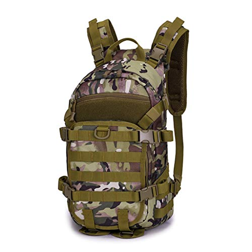 Affordable Outdoor Waterproof Sports Backpack Shoulder Tactical Package Waterproof (CP Camouflage)
